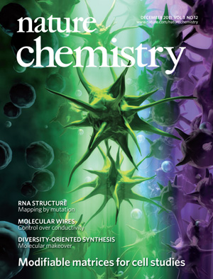 DeForest Nature Chemistry 2011 Cover