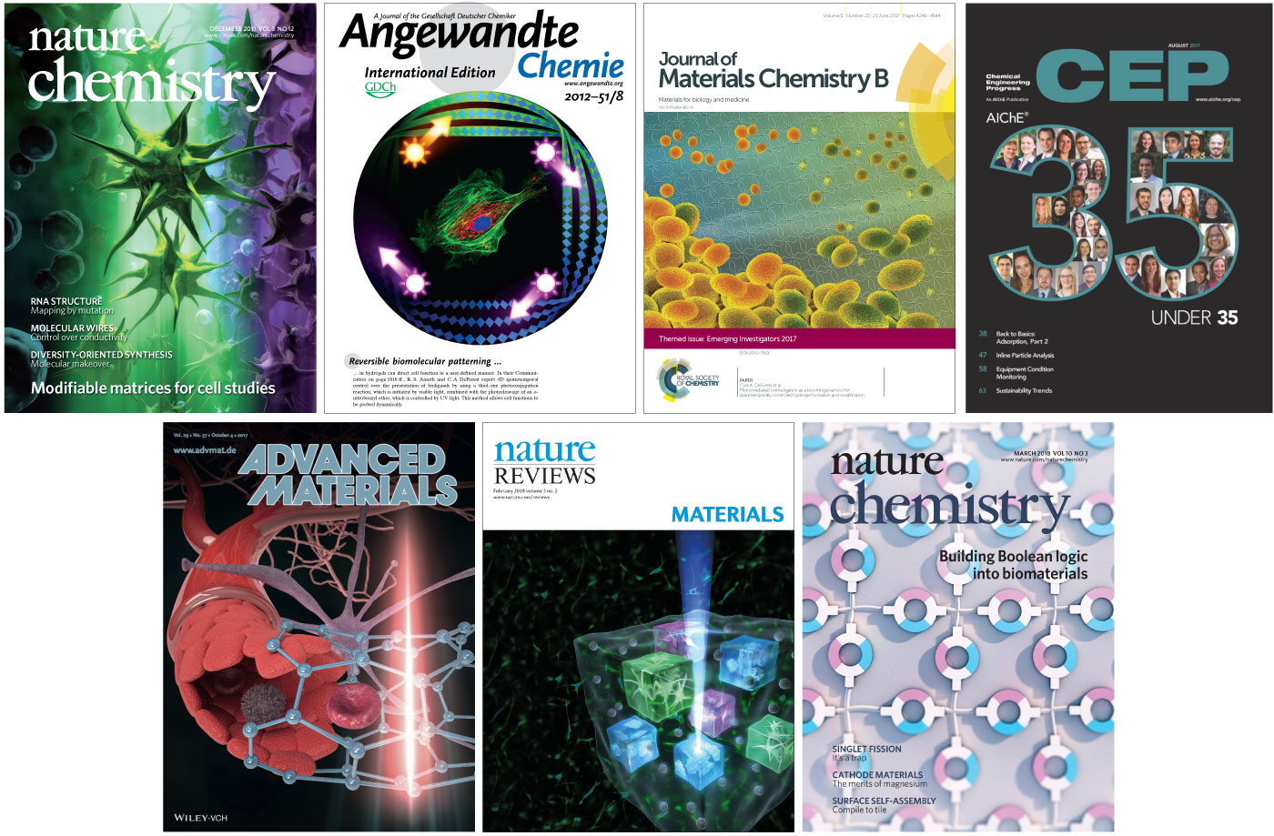 DeForest Lab Cover Gallery