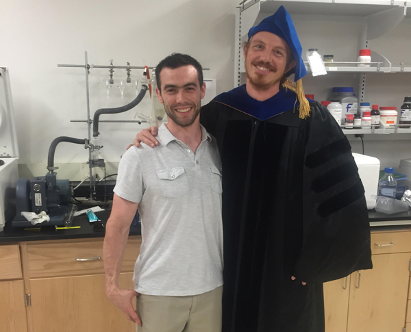 Mike elected to do science instead of attending his own graduation